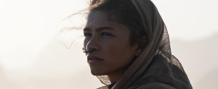 Zendaya est Chani, dans Dune.