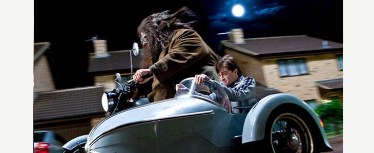 Harry Potter et Hagrid, un lien spécial
