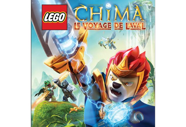 Lego Chima : Le Voyage de Laval - Opération Briques en folie