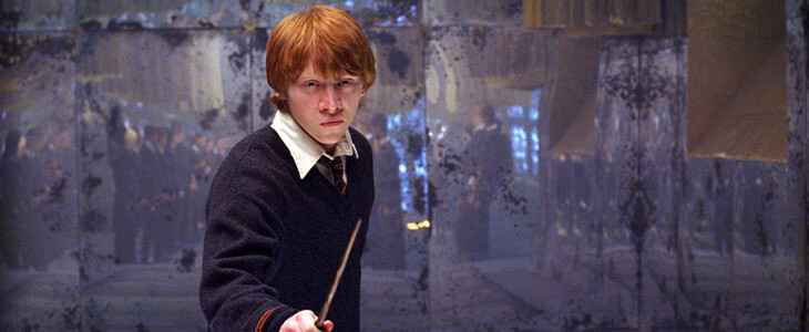 Rupert Grint dans Harry Potter et les Reliques de mort