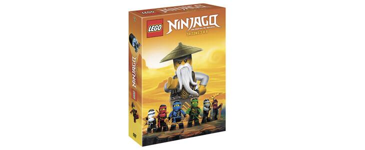 Retrouvez les saisons 3 à 9 de LEGO Ninjago dans ce coffret !