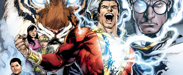Shazam, super-héros DC.