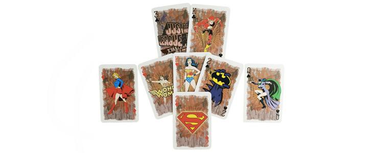 Jeu de cartes DC Comics