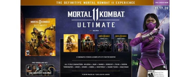 Mortal Kombat 11 Ultimate.