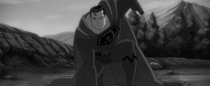 Superman dans le film d'animation Superman : Red Son