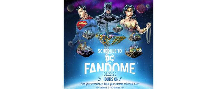 Le DC FanDome aura lieu dans la nuit du 22 au 23 août