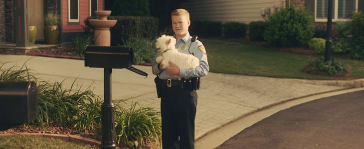 Gary et son chien dans Game Night