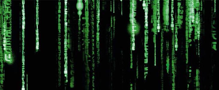 Le code vert de Matrix