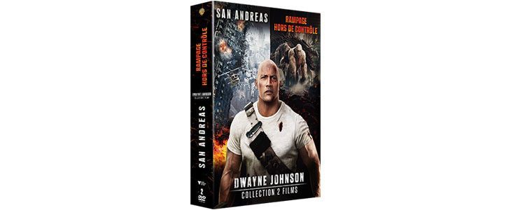 Coffret Dwayne Johnson