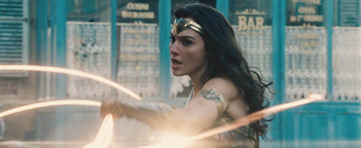 Gal Gadot dans Wonder Woman