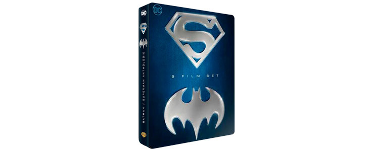 Anthologie Batman et Superman - coffret Noel