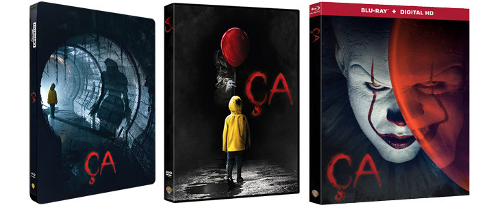 Ca, DVD, Blu Ray, Steel Book