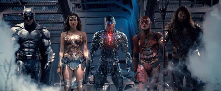 Les super-héros de Justice League