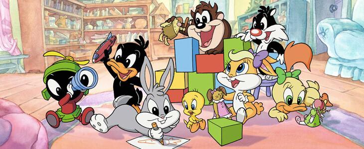 Les Baby Looney Tunes dans leur propre série télé.