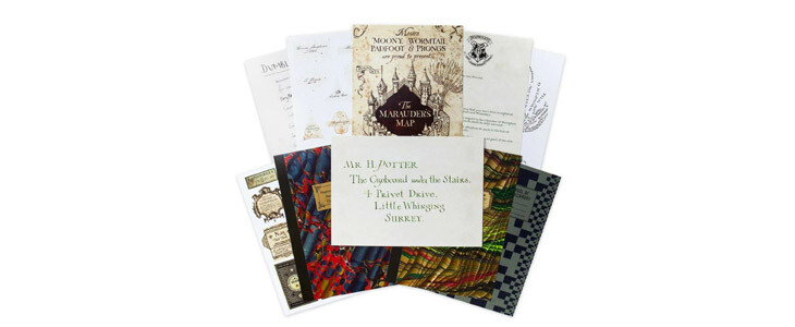 Un lot de 20 cartes postales Poudlard pour les fans de Harry Potter