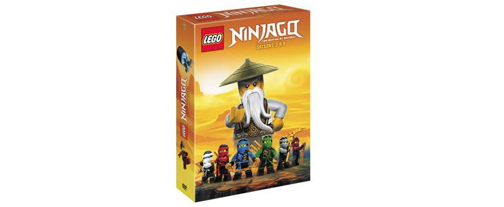 Coffret LEGO Ninjago - saisons 3 à 9