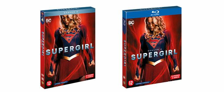 Supergirl saison 4 disponible en DVD et Blu-Ray