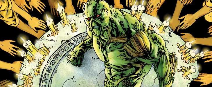 Swamp Thing dans les comics