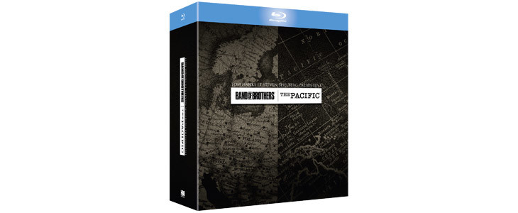 Le coffret Band of Brothers + The Pacific