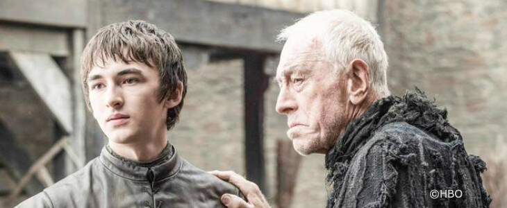 Max von Sydow, dans la saison 6 de Game of Thrones.