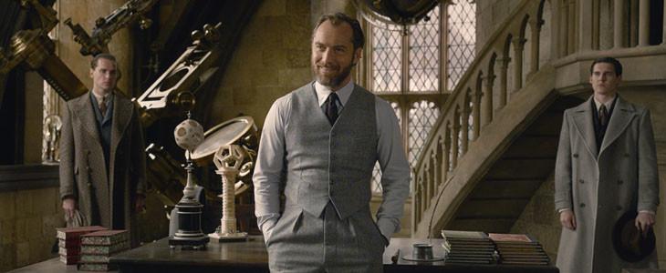 Jude Law est Dumbledore dans Les Animaux Fantastiques : Les Crimes de Grindelwald