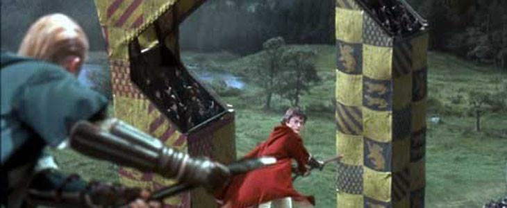 Harry et Drago - Quidditch