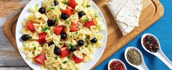 Salade de pâtes vegan pour Supernatural