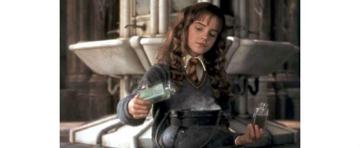 Hermione dans Harry Potter à l'école des sorciers