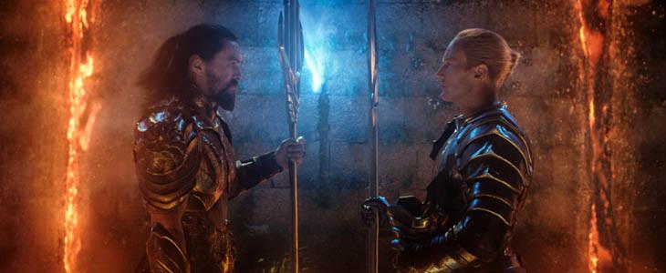 Aquaman - Jason Momoa et Patrick Wilson