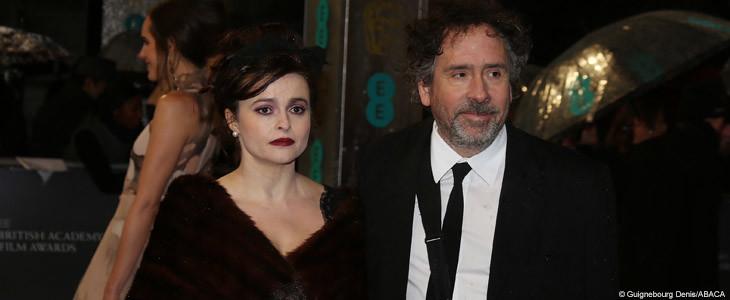 Helena Bonham-Carter et Tim Burton