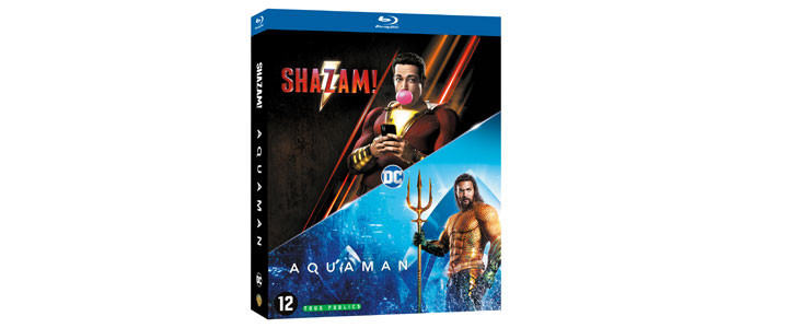 Coffret Aquaman-Shazam