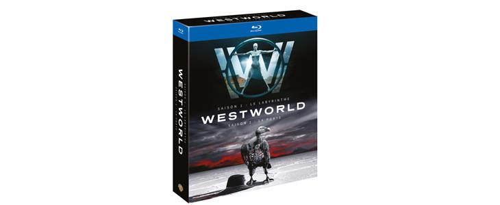 Coffret Westworld saisons 1 et 2