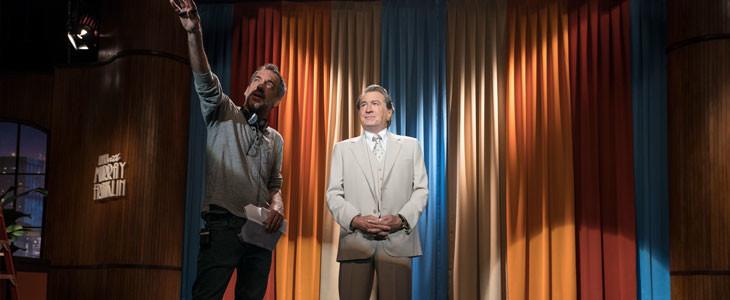 Todd Phillips et Robert De Niro, sur le tournage de Joker.
