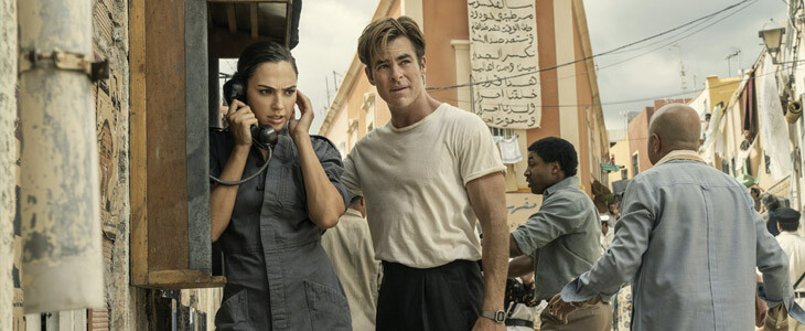 Gal Gadot et Chris Pine dans Wonder Woman 1984