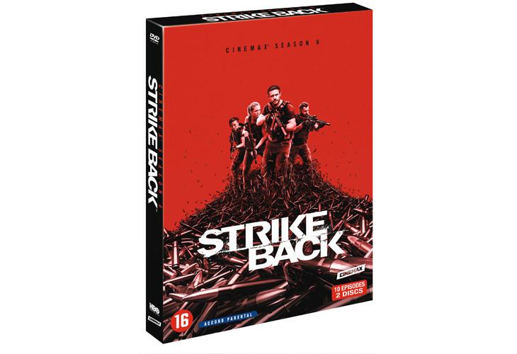 Strike Back saison 6, sortie DVD