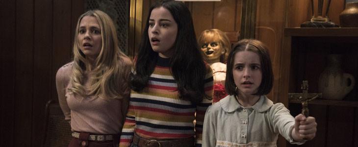 Madison, Katie et Mckenna dans Annabelle 3