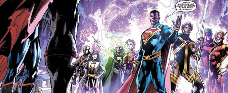 Superman est à la fois super-héros et président sur la Terre 23 !