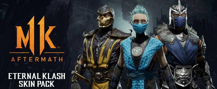 Mortal Kombat 11 Aftermath contient des packs de skins