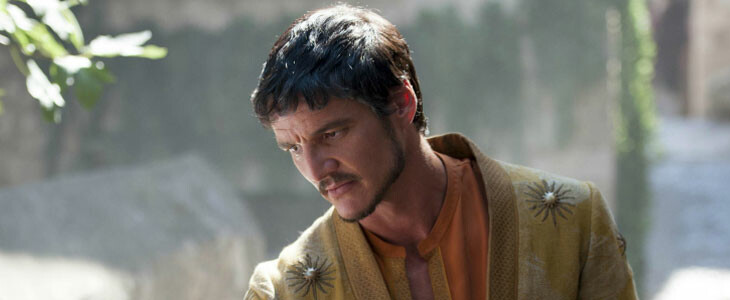 Pedro Pascal, alias Oberyn Martell dans Game of Thrones.