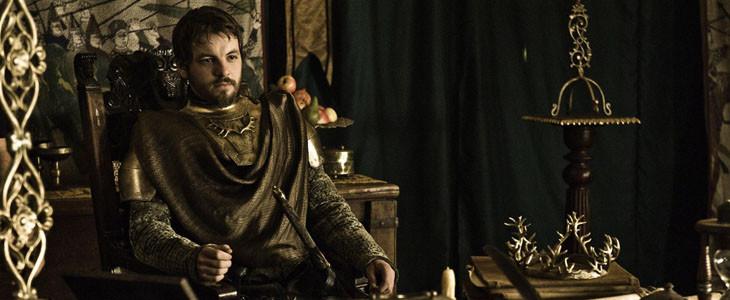 Renly Baratheon dans Game of Thrones
