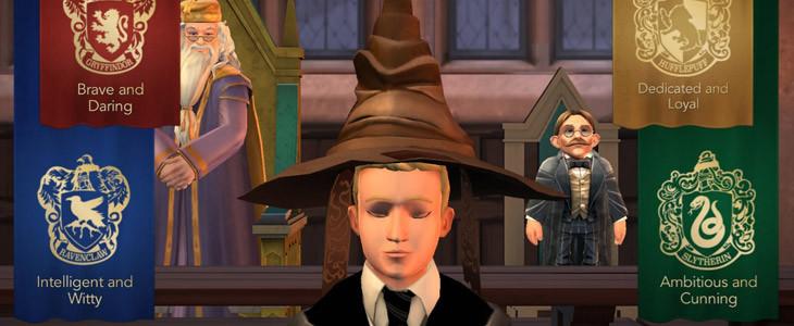 Harry Potter Hogwarts Mystery screen