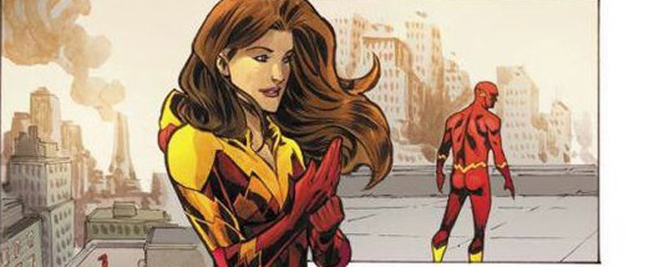 Iris West-Allen dans les comics