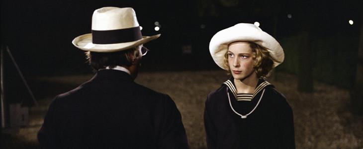 Dirk Bogarde et Bjorn Andresen dans Mort à Venise de Luchino Visconti
