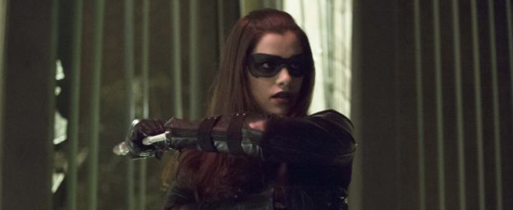 Jessica De Gouw alias Huntress dans Arrow