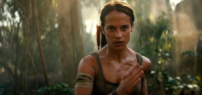 Alicia Vikander dans Tomb Raider