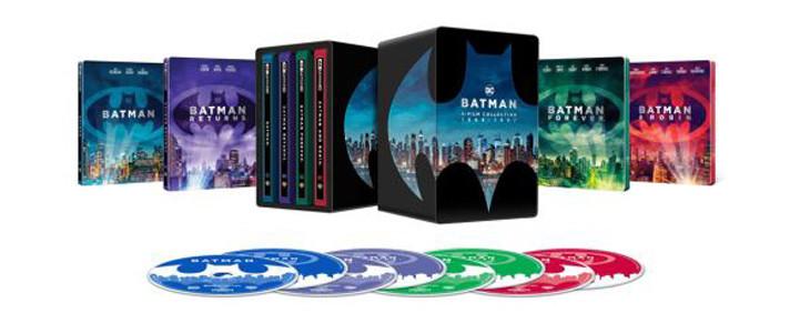 Batman célèbre ses 80 ans avec un coffret 4 films 1989-1997.
