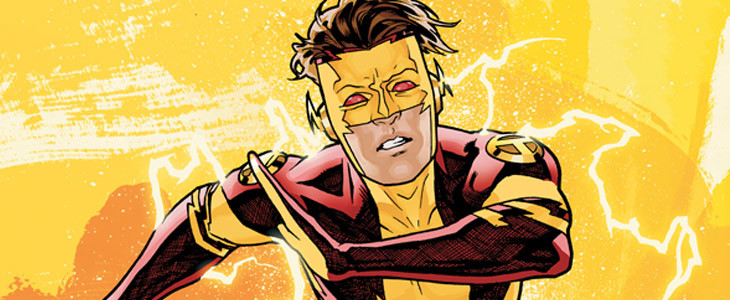 Le speedster adolescent Kid Flash