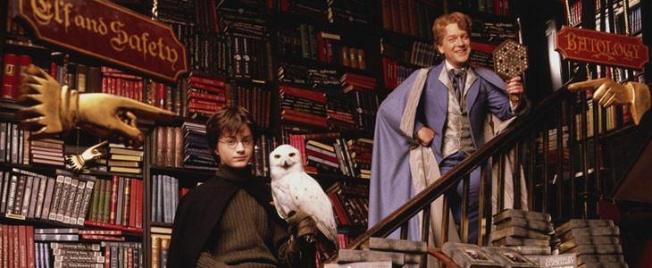 Daniel Radcliffe et Kenneth Branagh dans Harry Potter et la Chambre des secrets