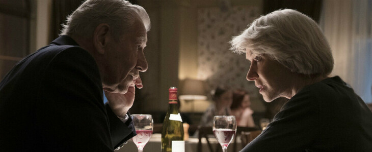 Ian McKellen et Helen Mirren dans L'Art du mensonge