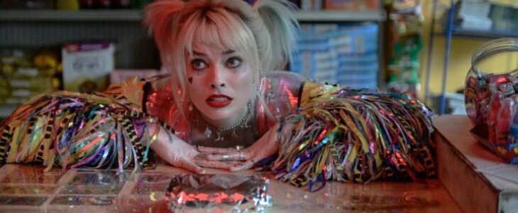 Harley Quinn et son sandwich aux oeufs, dans Birds of Prey.